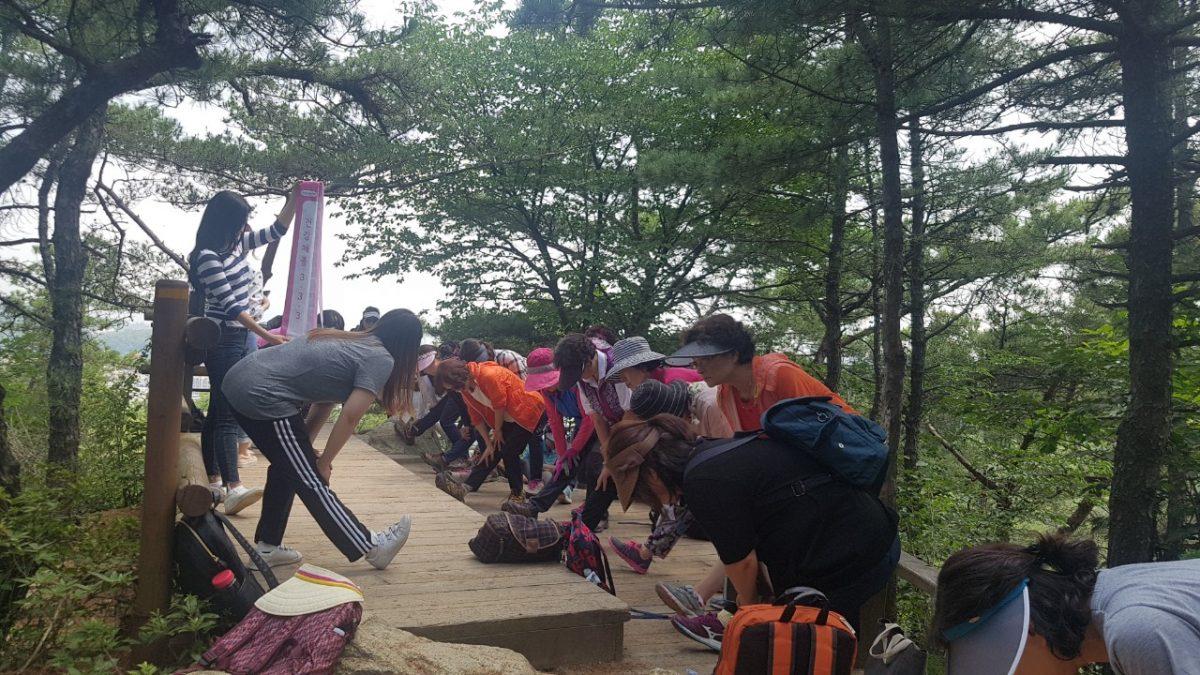 관악보건소 주관 걷기캠페인전개