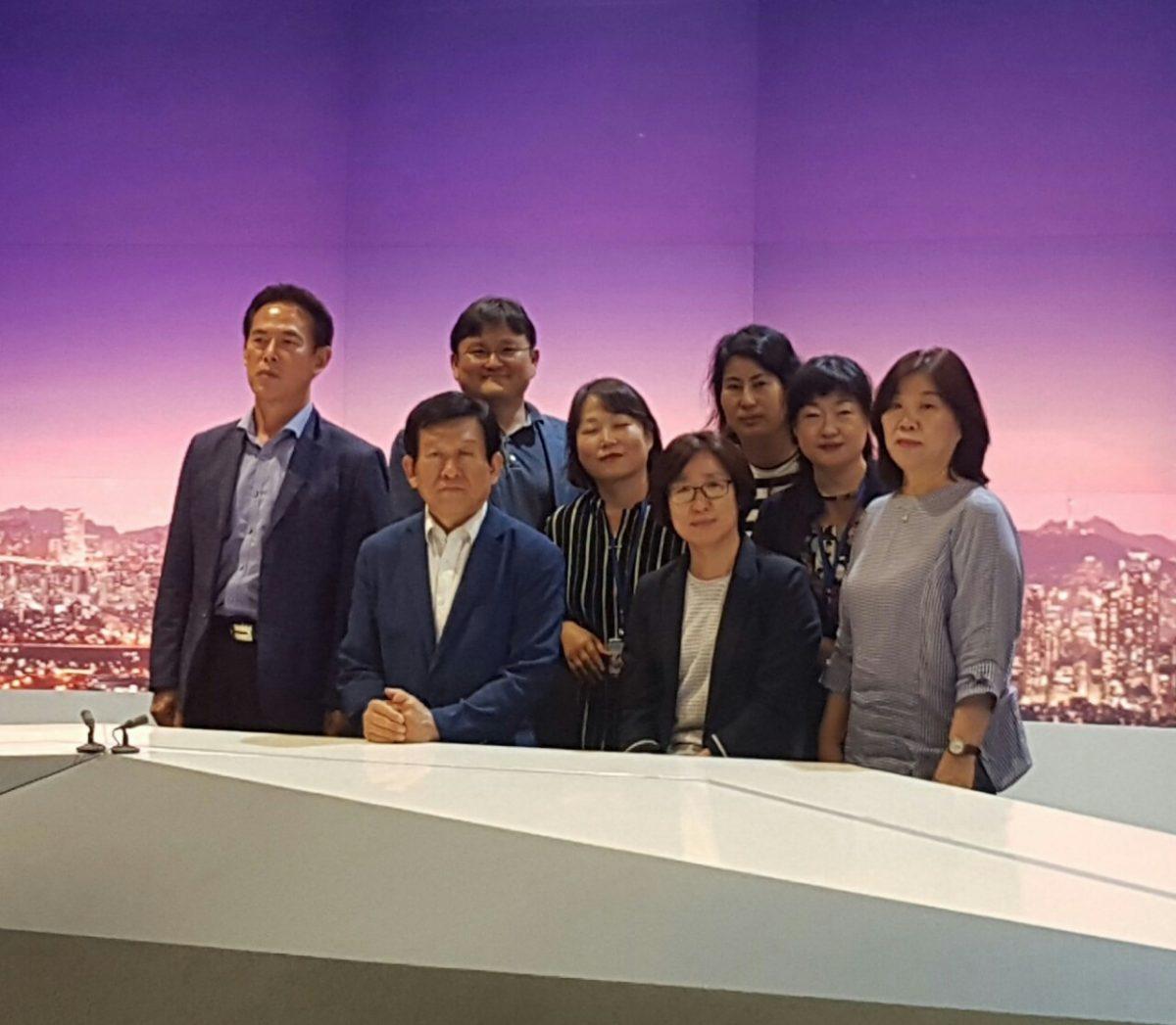[기자탐방]관악 G 스토리 기자단과 관악 마을방송주간뉴스팀은 JTBC 방송국 견학을 함께 하다