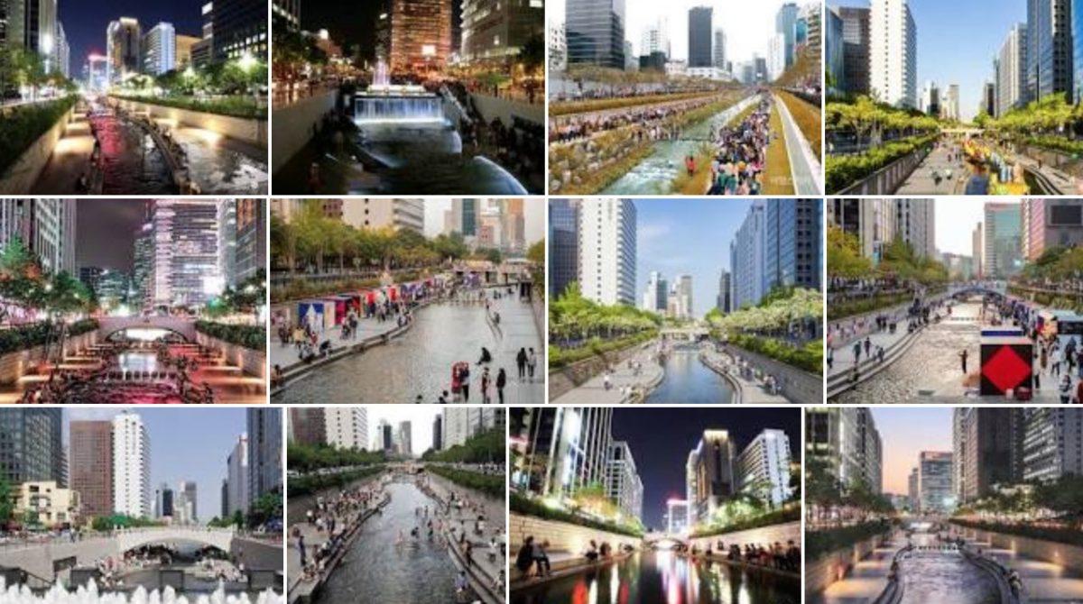 청계천 서울걷기여행